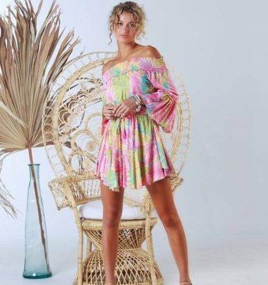 IR31. W21173 Dress Faye Tahiti