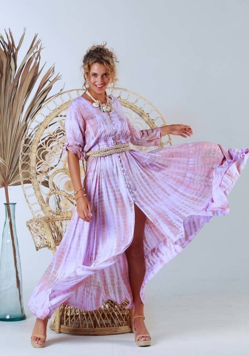 LILAC3. A21397 Dress Mila Lilac (6)